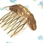 Medium Feather Hair Comb - ..