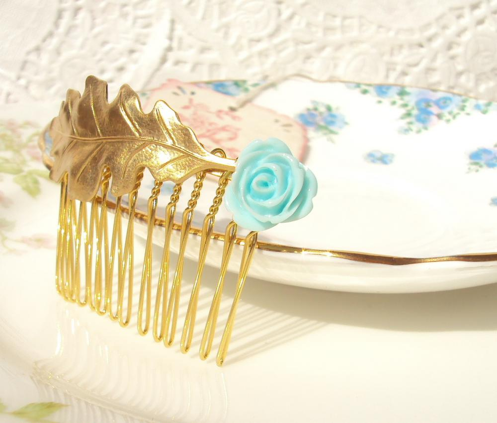 Bliss - Oak Leaf Hair Comb